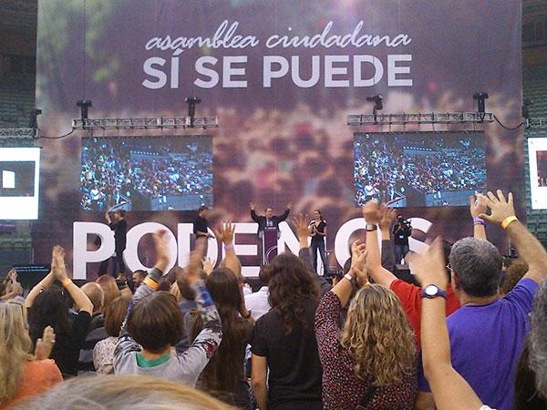 Pablo Iglesias, plus proche du Palais de la Moncloa que de la Puerta del Sol?