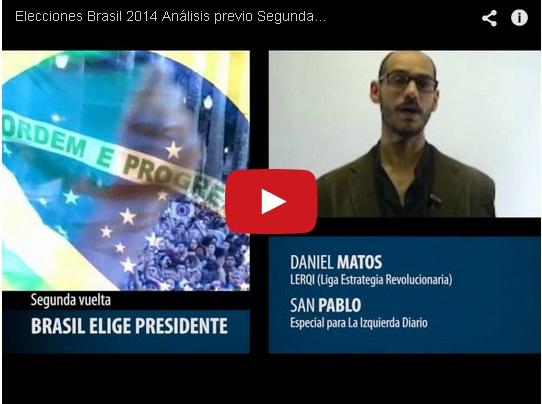 Elecciones Brasil 2014: análisis previo de la segunda vuelta