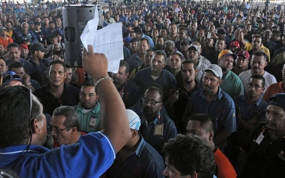 """""""En Venezuela cada vez más se usan los cuerpos represivos en las fábricas y luchas de los trabajadores"""""""