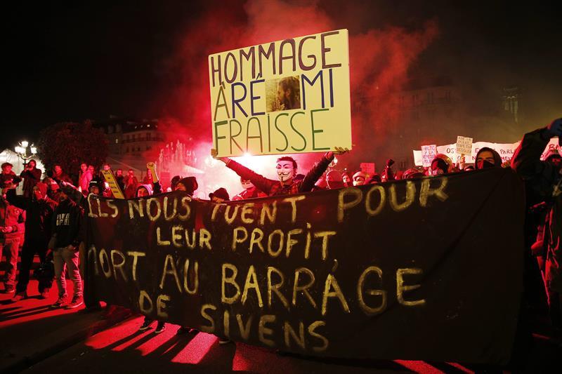 El asesinato de Remi Fraisse no debe quedar impune