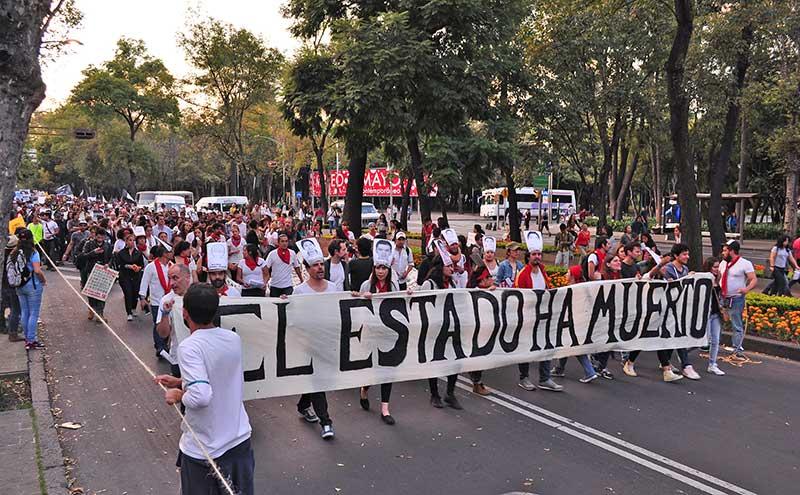 Os estudantes mexicanos como exemplo de luta