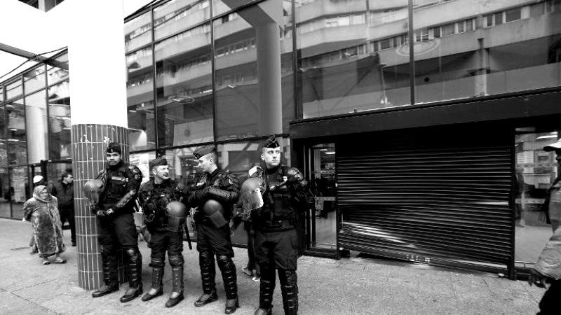 Militarisation de Saint-Denis (93) pour empêcher la mobilisation de la jeunesse des quartiers populaires