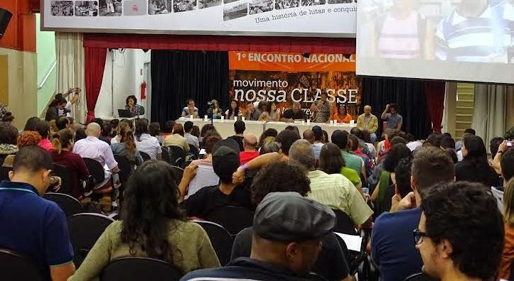 Mais de 200 trabalhadores no 1° Encontro Nacional do Movimento Nossa Classe