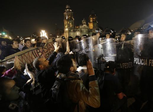 O movimento nas ruas e a luta contra Peña Nieto