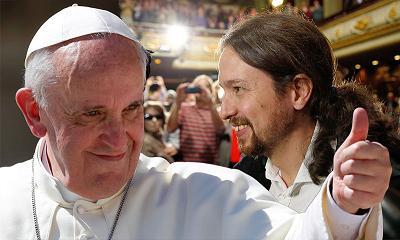 """A """"adesão papal"""" de Pablo Iglesias"""
