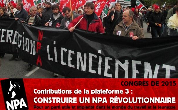 Plateforme 3: Pour un parti révolutionnaire implanté dans le monde du travail et la jeunesse