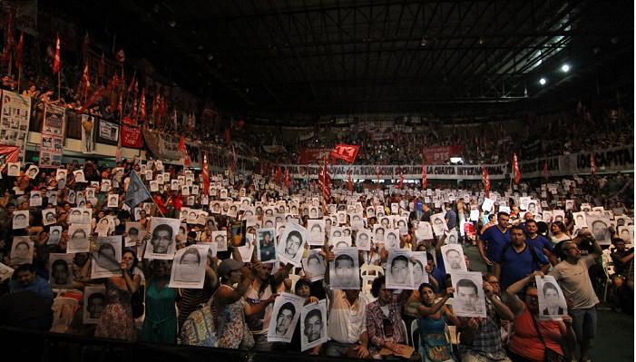 En Argentina también #AyotzinapaSomosTodos