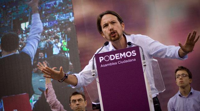 """Podemos, """"nueva política mediática"""" para una """"vieja"""" estrategia"""