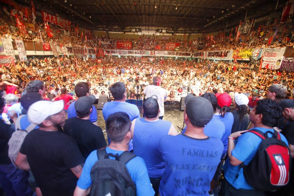 Argentina:The PTS Closed 2014 with an Enormous Militant Force