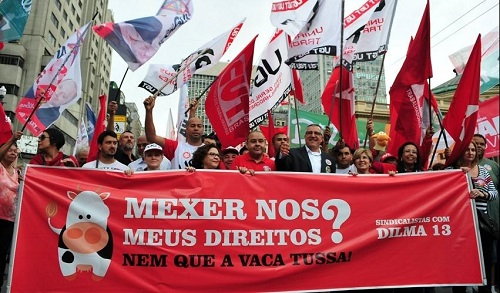 "Preparar a luta contra as medidas de ""ajustes"" anunciadas por Dilma Rousseff"