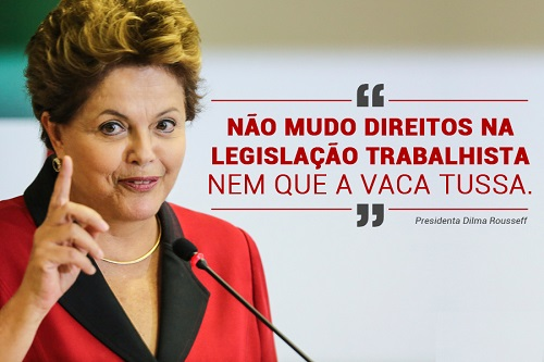 """Dilma Rousseff muestra lo que significa ser el """"mal menor"""""""