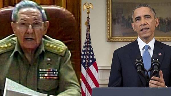 Face à l'annonce du rétablissement des relations diplomatiques entre Washington et La Havane