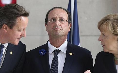 Unidade reacionária europeia: Merkel, Cameron, Rajoy e Renzi marcham no domingo em Paris