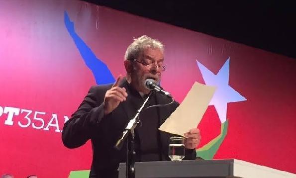 O discurso de Lula e a crise do PT