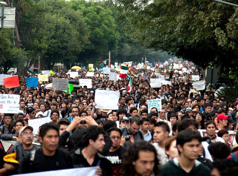 La alternancia en México: transición a la barbarie