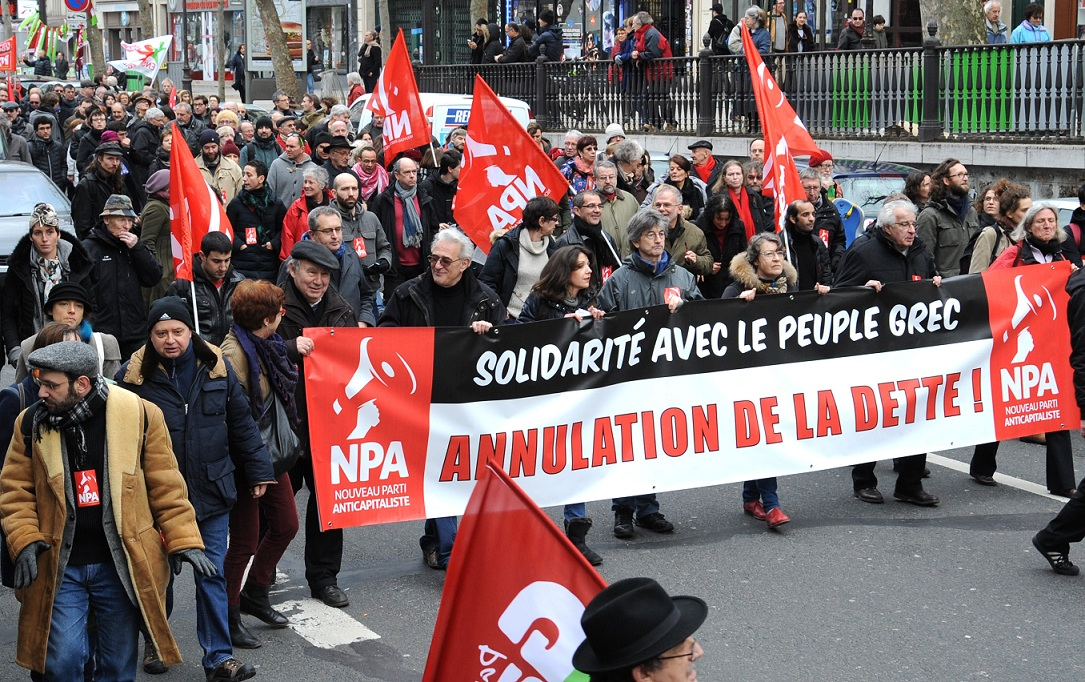 Plus que jamais avec le peuple grec et pour l'annulation de la dette