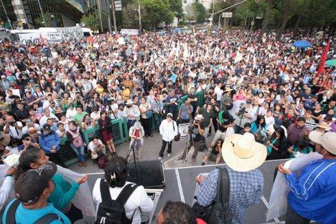 9na Acción Global por los normalistas desaparecidos en Ayotzinapa