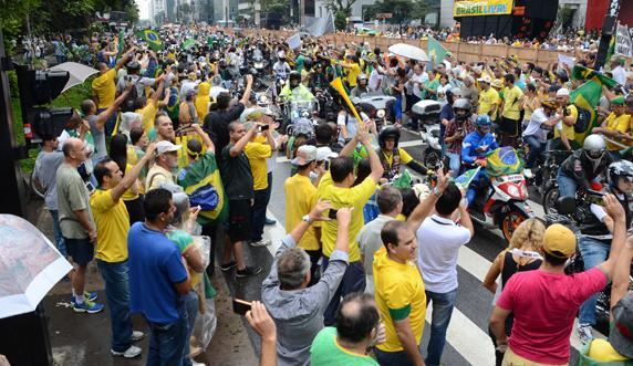 Brésil. Les manifestations du 15 mars et la nécessité d'une politique indépendante