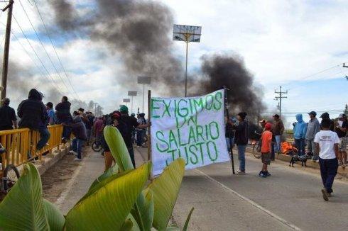 Revuelta de jornaleros de San Quintín es reprimida por el gobierno mexicano