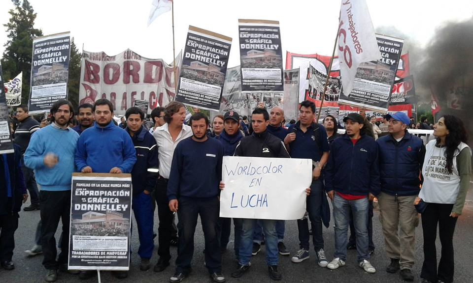 Argentina: Hundreds of factories on strike in Northern Area in Greater Buenos Aires