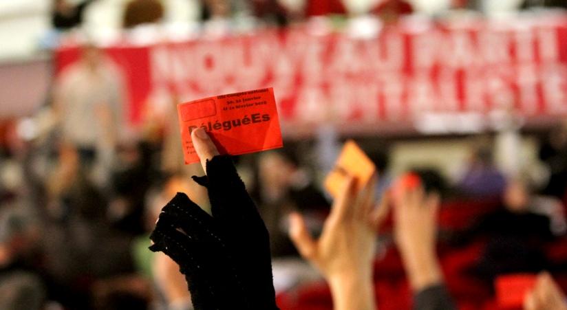 Le Nouveau Parti Anticapitaliste à la croisée des chemins