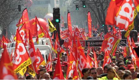 9 avril. Première véritable journée de mobilisation contre Hollande