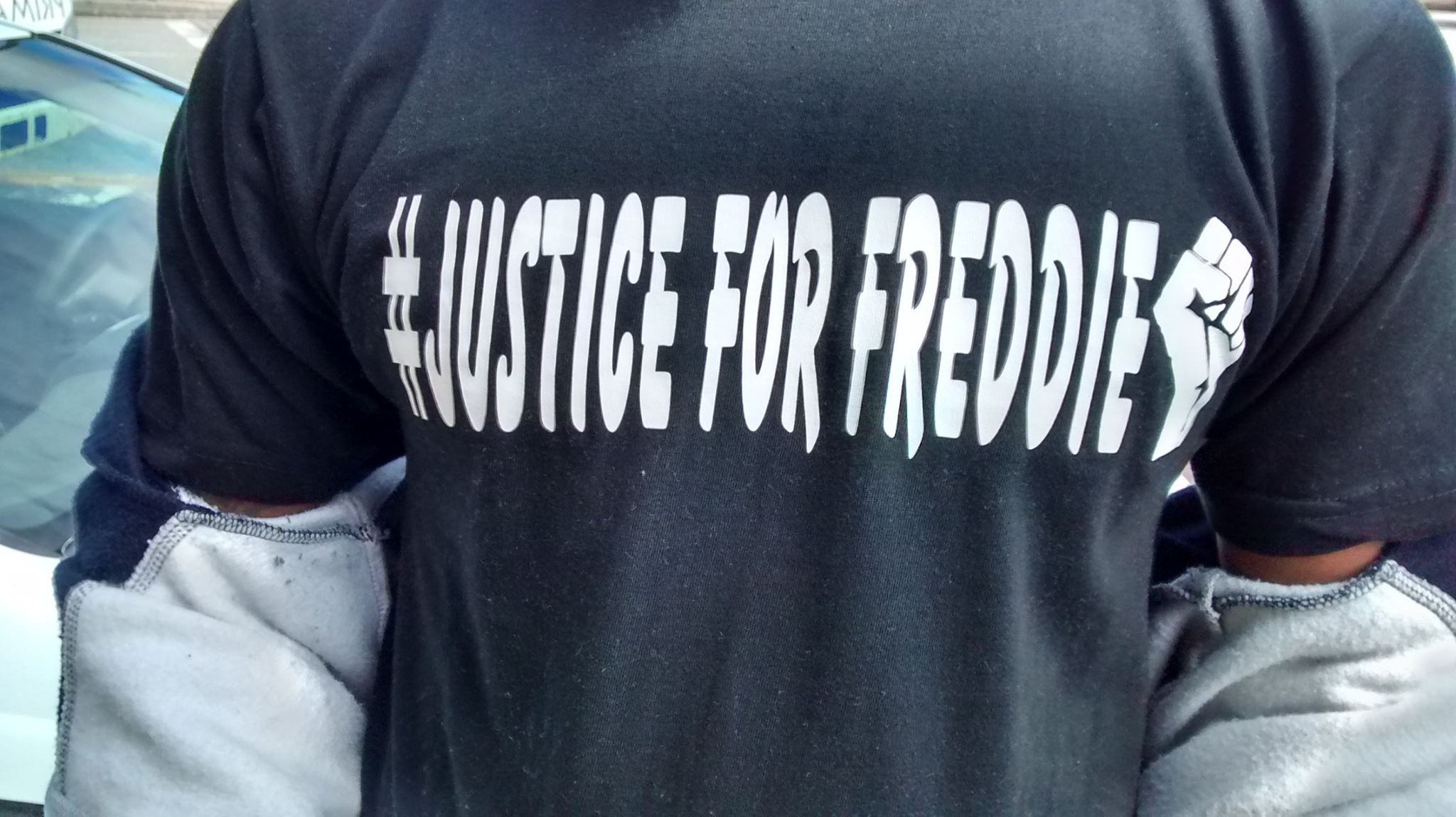The call for justice for Freddie Gray on May Day in the U.S.