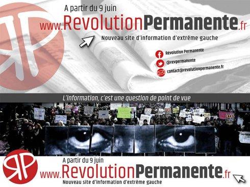 Revolutionpermanente.fr: el 9 de junio se viene el nuevo portal diario de izquierda en Francia
