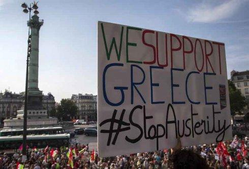 La Europa del capital contra el pueblo griego