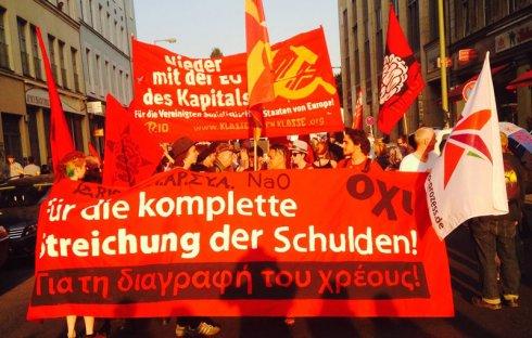 ¡Derrotar a Merkel y a sus aliados de la Troika!