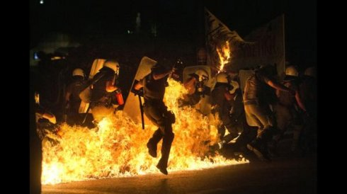 México: ¡Alto a la represión en Grecia!