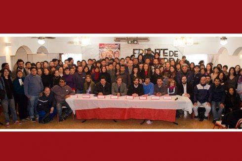 """""""Damos um passo à luta política"""": o sindicalismo combativo com Del Caño"""