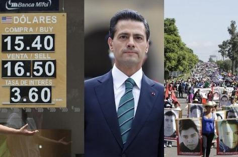 """México: el dólar al alza, los maestros también, y """"el Chapo"""" prófugo"""