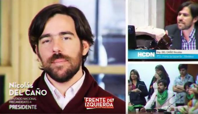Nicolás del Caño habla sobre la gran elección del FRENTE DE IZQUIERDA