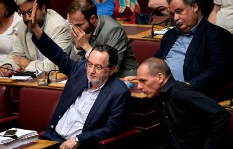 """A """"Unidade Popular"""" da esquerda do Syriza, uma nova ilusão reformista"""