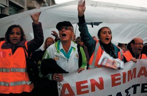 Contra el ajuste de Syriza y la falsa alternativa de la Unidad Popular y el KKE