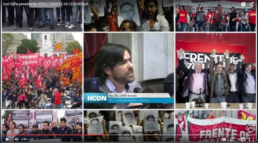 SPOT: La campaña presidencial del Frente de Izquierda