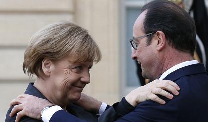 Hollande et Merkel au parlement européen. Un couple à l'unisson?