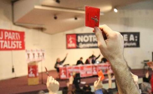 La izquierda del Nuevo Partido Anticapitalista se unió en la Plataforma A