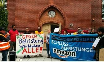 Amazon-Betriebsräte unterstützen!