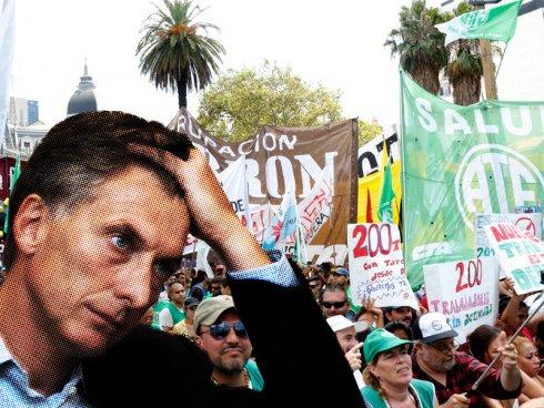 Macri y un baño callejero de realidad