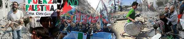 ¡Alto a la masacre, fuera Israel de Palestina!