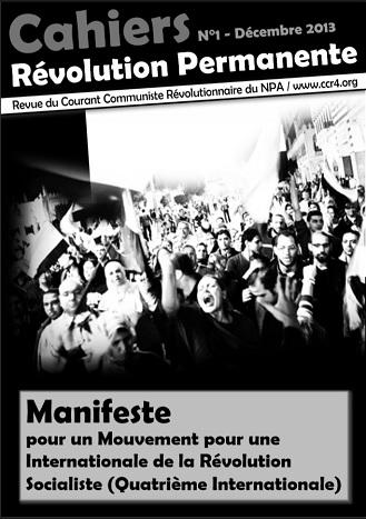 Voir le Manifeste pour un Mouvement pour une Internationale de la Révolution Socialiste - Quatrième Internationale