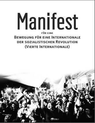 Manifest für eine Bewegung für eine Internationale der sozialistischen Revolution - Vierte Internationale